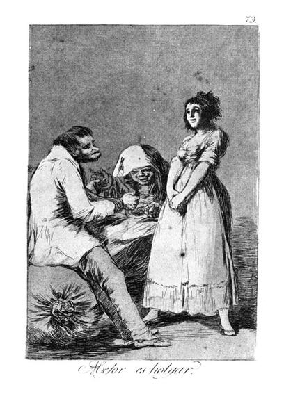 It is better to be idle, 1799 - Francisco Goya