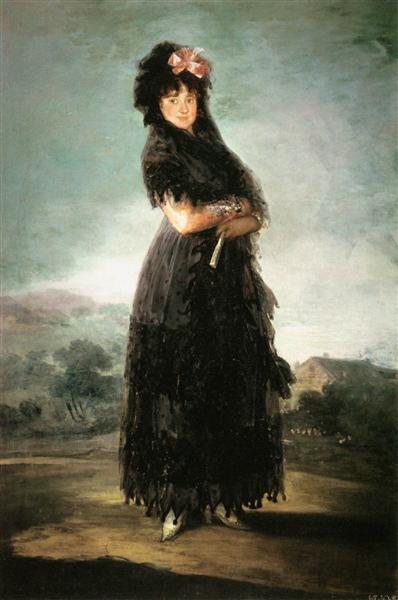 Mariana Waldstein, Ninth Marquesa de Santa Cruz, 1797 - Francisco Goya