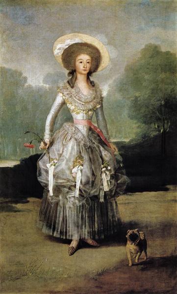 Marquesa Mariana de Pontejos, c.1786 - Francisco Goya