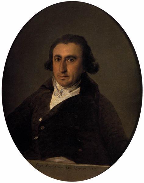 Martín Zapater, 1797 - Франсиско де Гойя