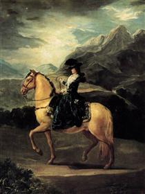 Ritratto di Maria Teresa de Vallabriga a cavallo - Francisco Goya