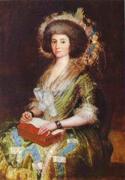 Portrait of Senora Berm sezne Kepmesa, 1795 - Francisco Goya