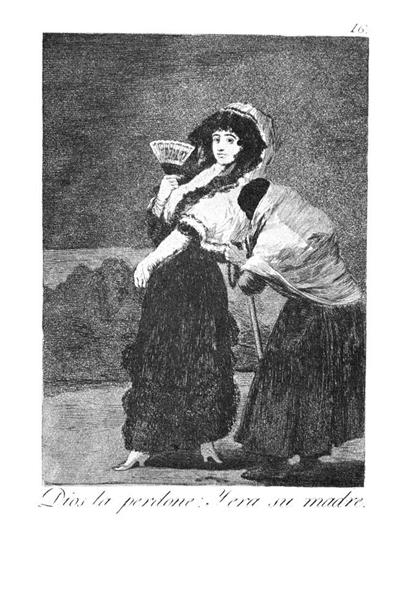 Should God forgive her She was her mother, 1799 - Francisco Goya