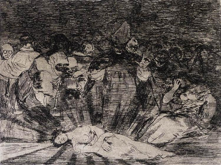 Truth Has Died, 1810 - 1814 - Francisco de Goya