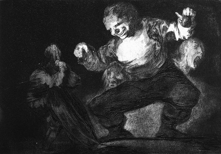 Twerp, 1816 - 1823 - Francisco Goya