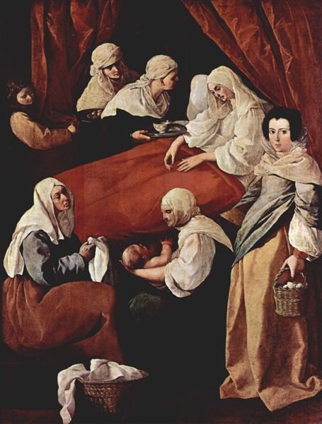Birth of the Virgin - Francisco de Zurbaran