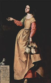 Santa Rufina de Sevilha - Francisco de Zurbarán
