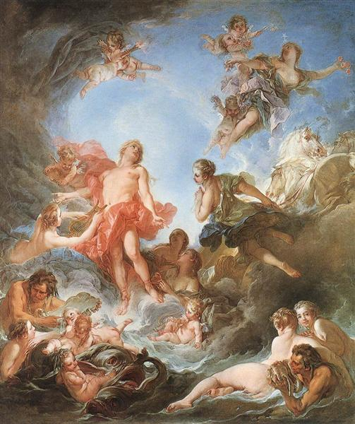 The Rising of the Sun, 1753 - Francois Boucher