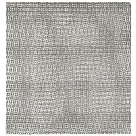 3 grillages superposés 0°, +15°, -15°, 1959 - Francois Morellet