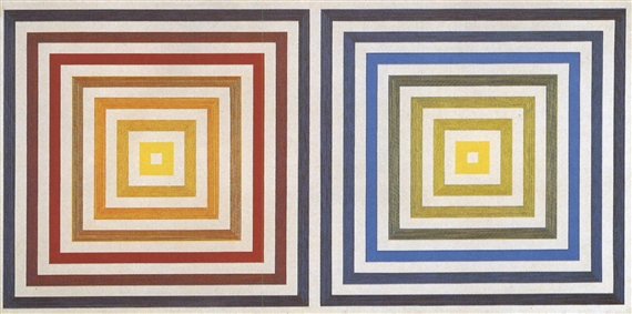 From Yellow to Violet, 1956 - Francois Morellet