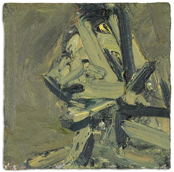 Head of Paula Eyles, 1972 - Frank Auerbach