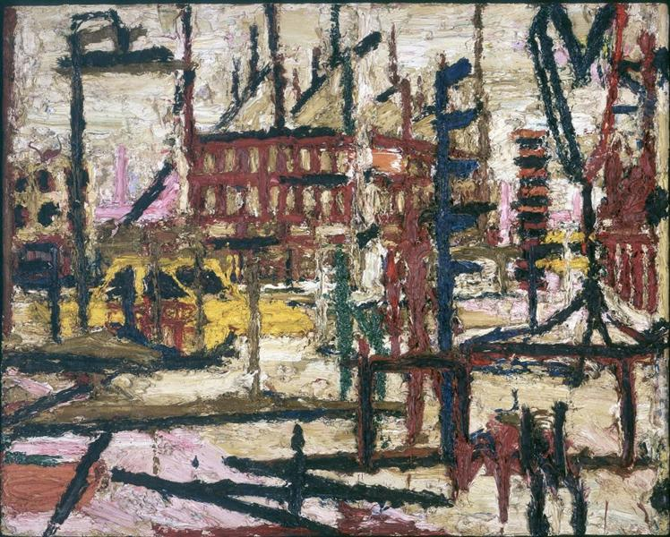 Mornington Crescent - Frank Auerbach