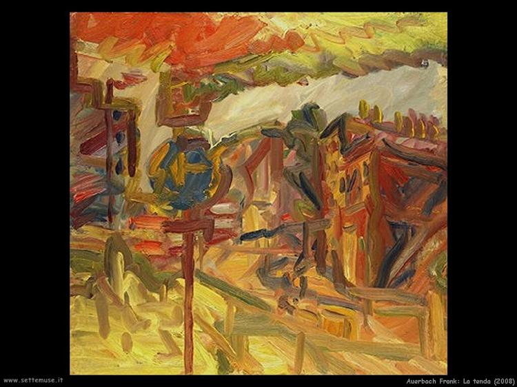 The Awning, 2008 - Frank Auerbach