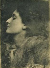 Lady of Charlotte - Frank Eugene