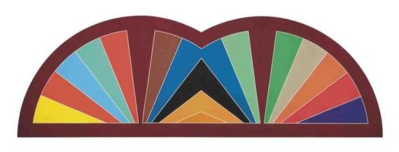 Khurasan Gate III, 1968 - Frank Stella