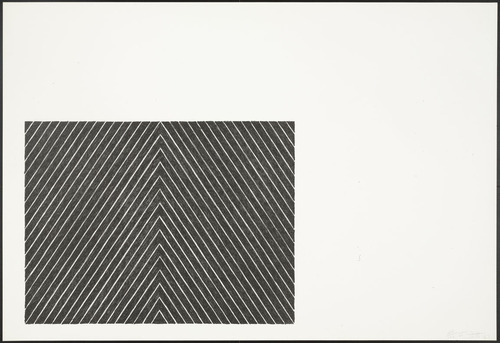 Point of Pines (from Black Series II), 1967 - Frank Stella