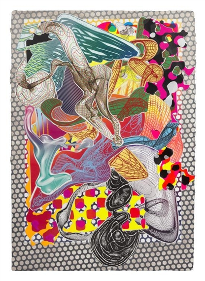 Riallaro, 1995 - Frank Stella