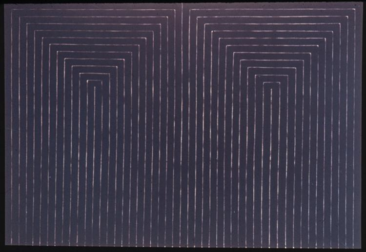 The Marriage of Reason and Squalor, 1959 - Frank Stella