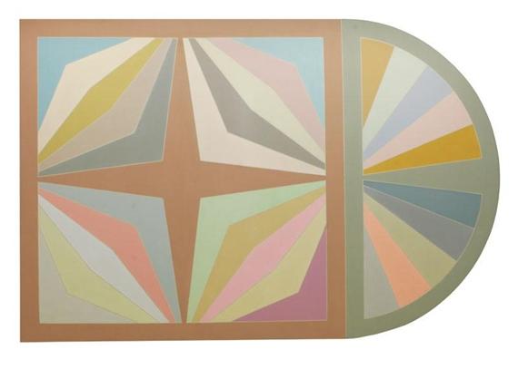 Untitled, 1968 - Frank Stella
