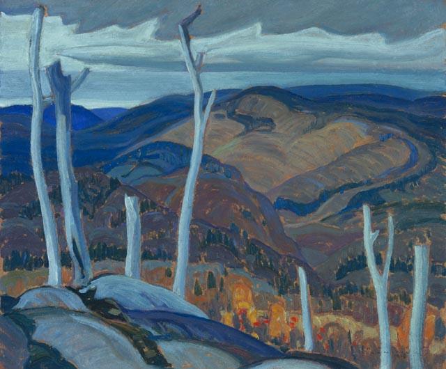 A Grey Day, 1928 - Franklin Carmichael