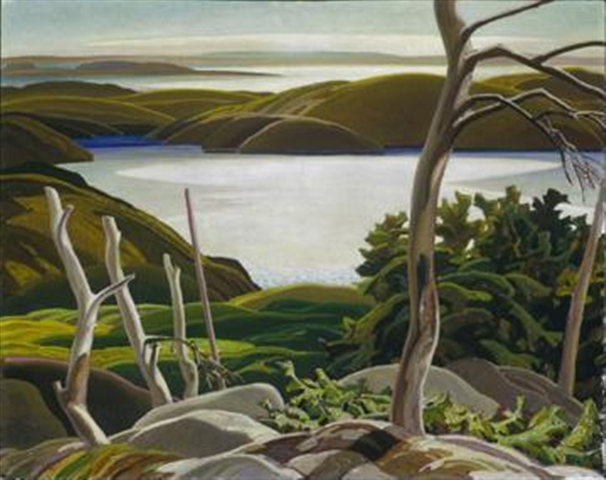 Frood Lake, 1939 - Franklin Carmichael