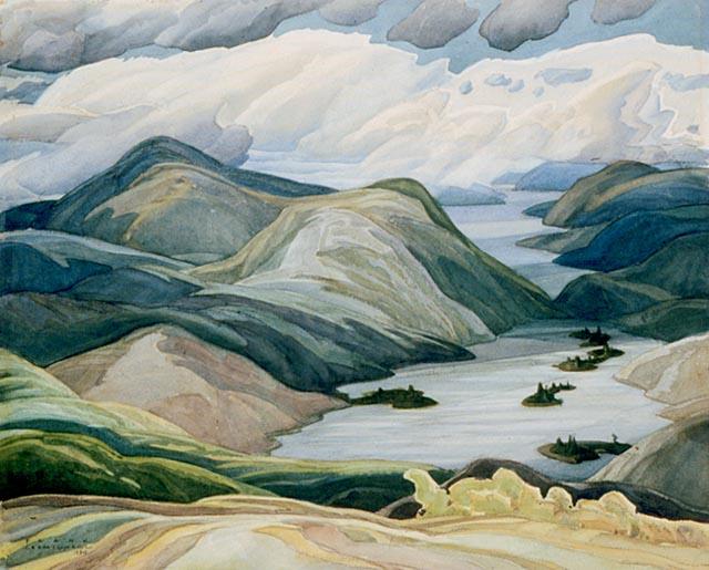 Grace Lake, 1934 - Franklin Carmichael