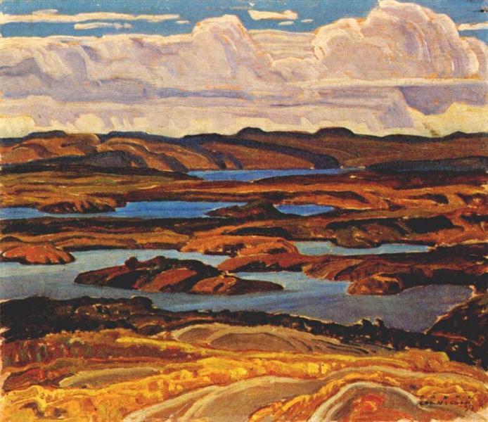 La Cloche Panorama - Franklin Carmichael