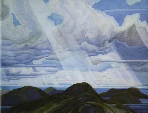 Snow Flurries, North Shore of Lake Superior - Franklin Carmichael
