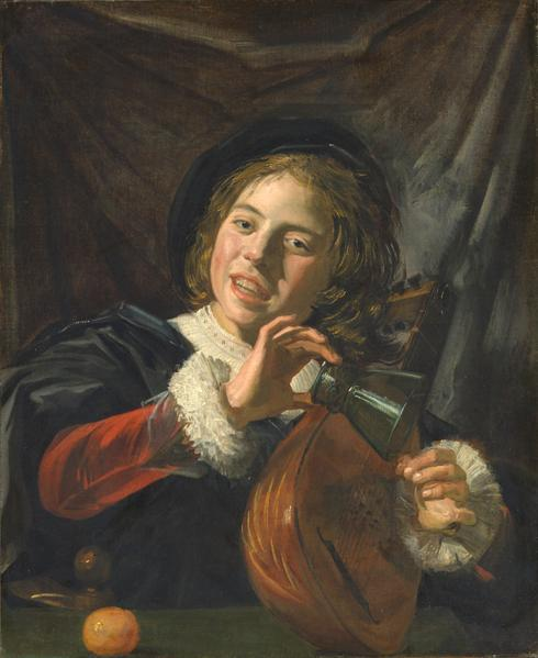 Boy with a Lute, c.1625 - Frans Hals