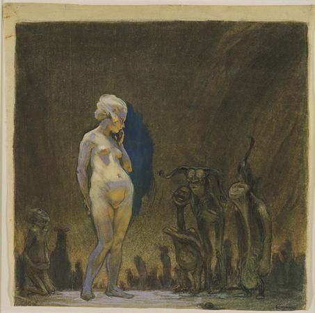 Admiration, c.1899 - Frantisek Kupka