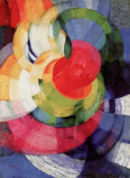 Disks of Newton, Study for Fugue in Two Colors, c.1911 - Frantisek Kupka