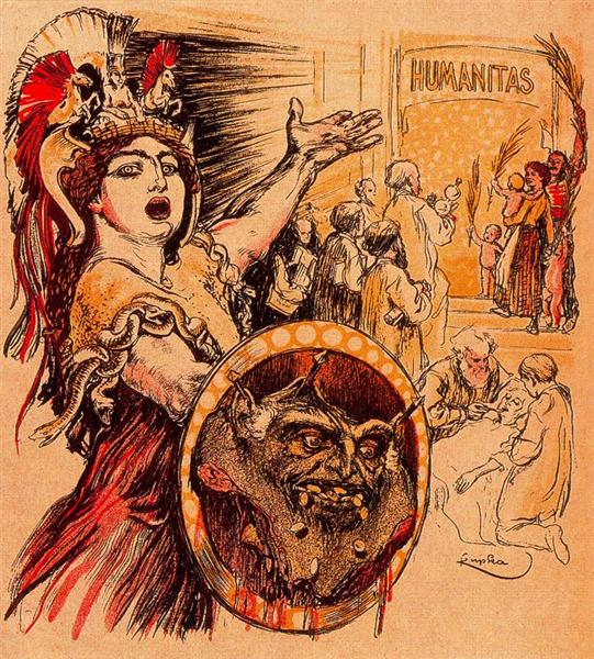 Humanitas - Франтишек Купка