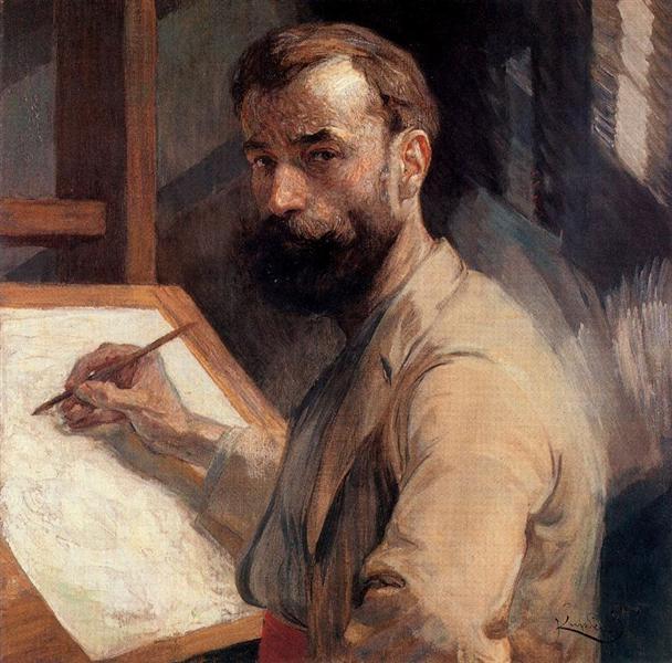 Self-Portrait, 1905 - Франтишек Купка