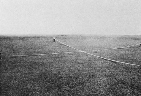 Ort Feld, 50 x 50 m, 1967 - Franz Erhard Walther