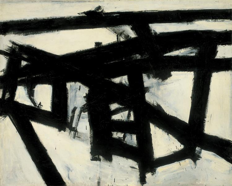 Mahoning, 1956 - Franz Kline