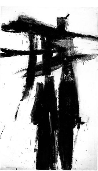 UNTITLED, 1956 - Franz Kline
