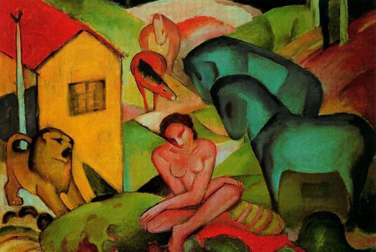 The Dream, 1912 - Franz Marc