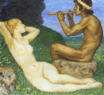 Springtime of love - Franz Stuck