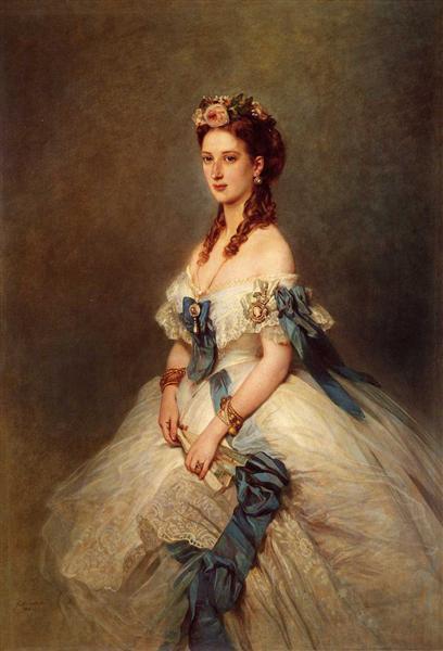 Alexandra, Princess of Wales, 1864 - Franz Xaver Winterhalter