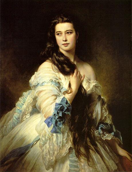 Barbara Dmitrievna Mergassov-Rimsky-Korsakova, 1864 - Franz Xaver Winterhalter