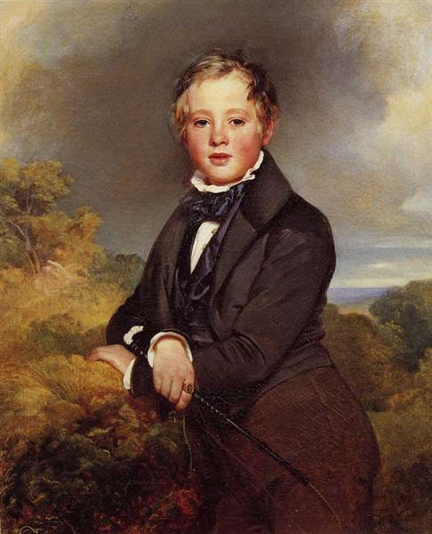 Ludwig, Graf Von Langenstein, 1834 - Franz Xaver Winterhalter