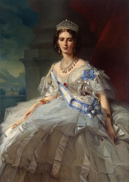 Portrait of Princess Tatiana Alexanrovna Yusupova, 1858 - Franz Xaver Winterhalter