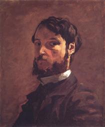 Self Portrait 1899 Pierre Auguste Renoir Wikiart Org