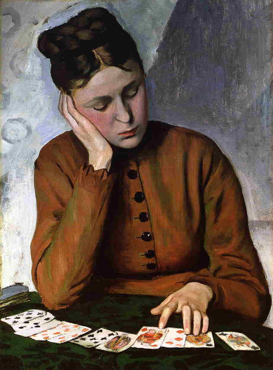Frederic Bazille The-fortune-teller