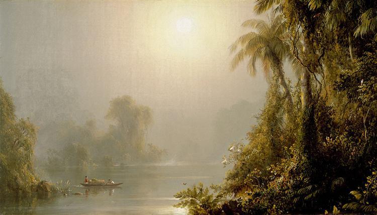 Matin sous les tropiques, 1858 - Frederic Edwin Church