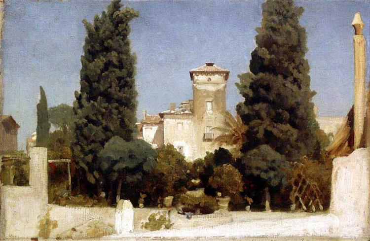 The Villa Malta, Rome, 1865 - Frederic Leighton