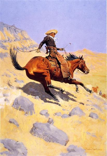 The Cowboy - Frederic Remington