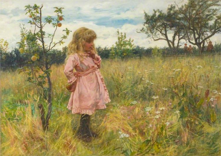 A Modern Eve, 1882 - Frederick Morgan