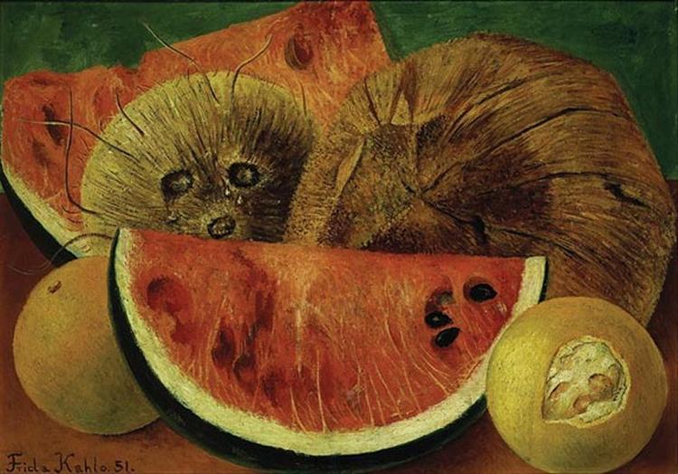 Coconuts, 1951 - Frida Kahlo
