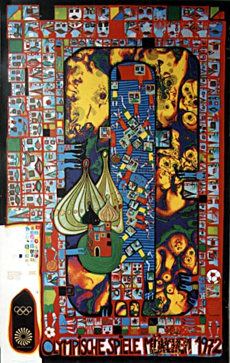 700 Olympic Games Munich 1972, 1971 - Friedensreich Hundertwasser